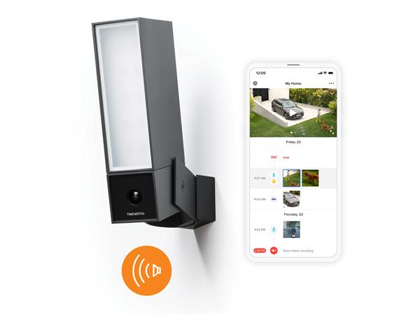 Netatmo Smart Outdoor Camera with Siren