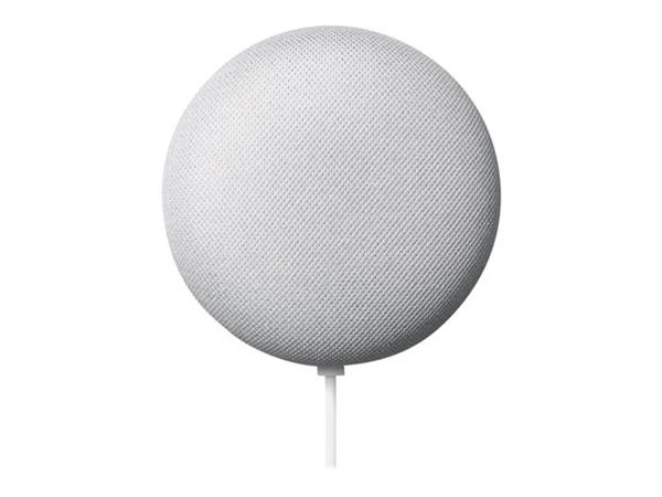 Google Nest Mini Chalk - Twin Pack