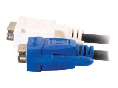 C2G 2m DVI-A Male to HD15 VGA Male Analogue Video Cable