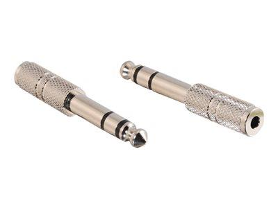 C2G 6.3mm Stereo Male to 3.5mm Mono Female Adapter