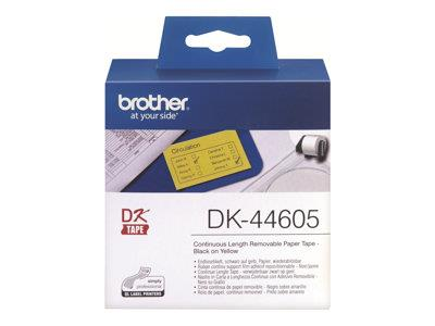 Brother P-TOUCH Yellow Paper- 62mm