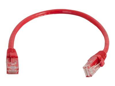 C2G 2m Cat5E 350 MHz Snagless Booted Patch Cable - Red