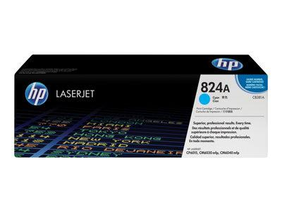 HP 824A Cyan Original LaserJet Toner Cartridge