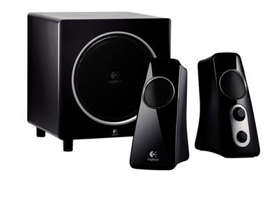Logitech Z523 2.1 Channel PC Multimedia Speaker System - 40 Watt Dark