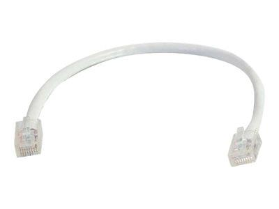 C2G .5m Cat5E 350 MHz Assembled Patch Cable - White