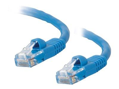 C2G 15m Cat5E 350 MHz Snagless Patch Cable - Blue
