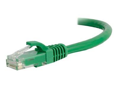 C2G 1.5m Cat5E 350 MHz Snagless Patch Cable - Green