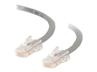 C2G .5m Cat5E 350 MHz Crossover Patch Cable - Grey