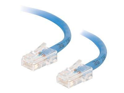 C2G .5m Cat5E 350 MHz Crossover Patch Cable - Blue