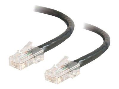 C2G 7m Cat5E 350 MHz Crossover Patch Cable - Black