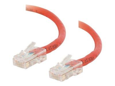 C2G 2m Cat5E 350 MHz Crossover Patch Cable - Red
