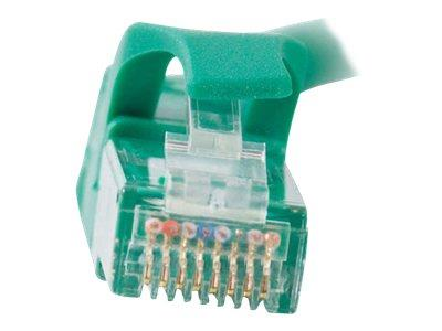 C2G .5m Cat6 550 MHz Snagless Patch Cable - Green
