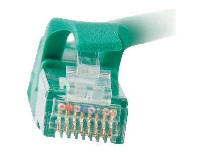 C2G 1m Cat6 550 MHz Snagless Patch Cable - Green