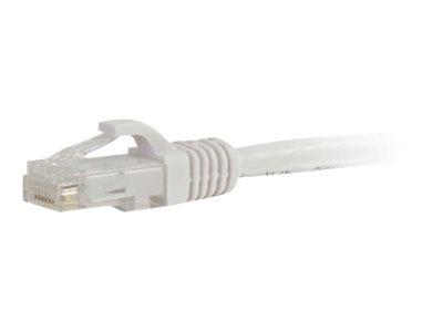 C2G 1m Cat6 550 MHz Snagless Patch Cable - White