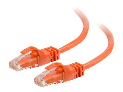 C2G 10m Cat6 550 MHz Snagless Patch Cable - Orange