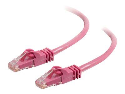C2G 3m Cat6 550 MHz Snagless Patch Cable - Pink