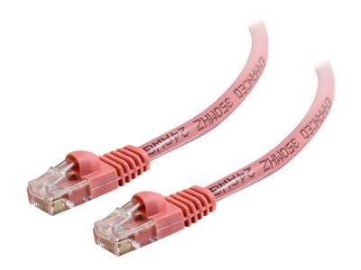 C2G 7m Cat5E 350 MHz Snagless Patch Cable - Pink