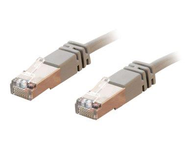 C2G 50m Shielded Cat5E Moulded Patch Cable - Grey