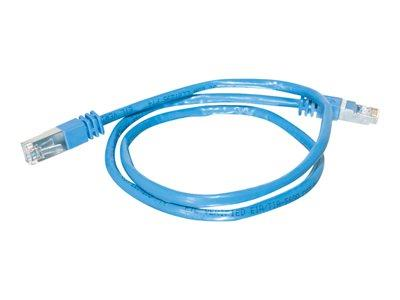 C2G 15m Shielded Cat5E Moulded Patch Cable - Blue