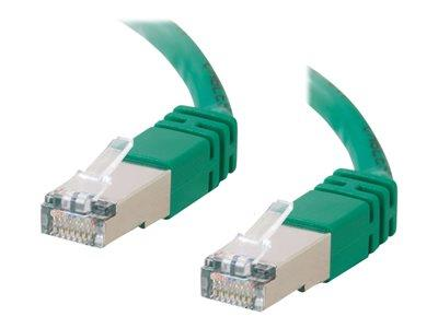 C2G 5m Shielded Cat5E Moulded Patch Cable - Green