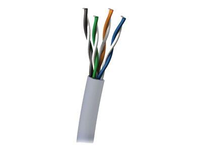 C2G 305m Cat6 UTP 550 MHz Solid PVC CMG-Rated Cable - Grey