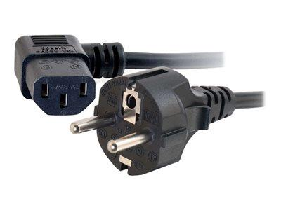 C2G 2m 16 AWG Universal 90? Power Cord (IEC320C13 to CEE7/7)