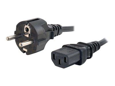C2G 5m 16 AWG Universal Power Cord (IEC320C13 to CEE7/7)
