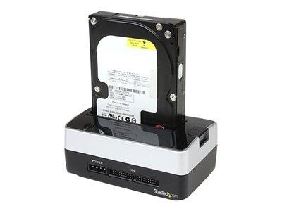 StarTech.com USB to SATA IDE Hard Drive Docking Station for 2.5in or 3.5in HDD Dock