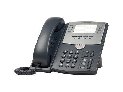 Cisco 8 Line IP Phone With PoE and PC Port