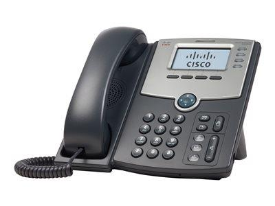 Cisco 4 Line IP Phone With Display PoE and PC Port