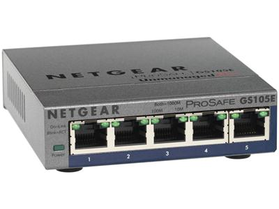 NETGEAR ProSafe Plus Switch  5-port Gigabit Ethernet
