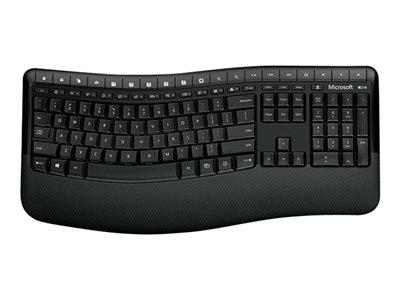 Microsoft Wireless Comfort Desktop 5000 - Keyboard and mouse set - Wireless