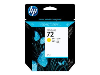 HP 72 69-ml Yellow Ink Cartridge