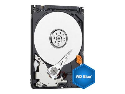 WD Blue 500GB  Mobile  Hard Disk Drive - 5400 RPM SATA 3 Gb/s  2.5 Inch - WD5000BPVT