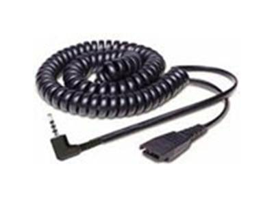 Jabra QD Coiled Cord + 2.5mm Jack