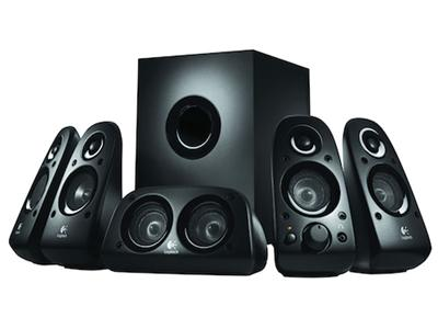 Logitech Z506 5.1 Surround Sound Speakers (75 Watts)