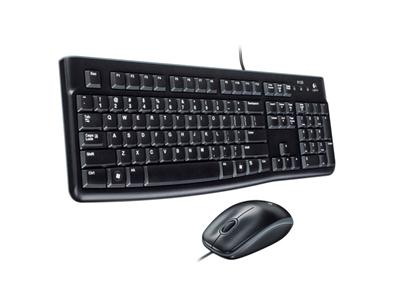 Logitech Desktop MK120 - Keyboard & Mouse - USB
