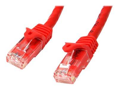 StarTech.com 15 ft Red Gigabit Snagless RJ45 UTP Cat6 Patch Cable