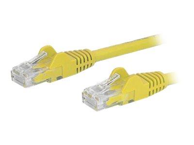 StarTech.com 15 ft Yellow Gigabit Snagless RJ45 UTP Cat6 Patch Cable