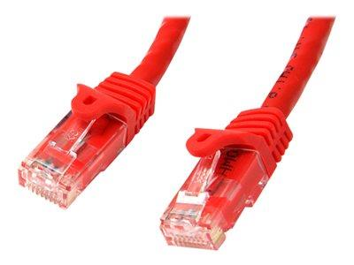 StarTech.com 3 ft Red Gigabit Snagless RJ45 UTP Cat6 Patch Cable