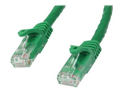 StarTech.com 3 ft Green Gigabit Snagless RJ45 UTP Cat6 Patch Cable