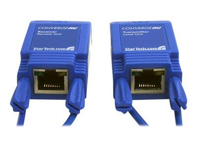 StarTech.com Mini VGA Video and Audio Extender over Cat5