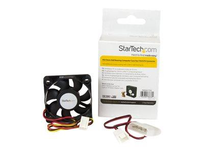 StarTech.com 50x10mm Replacement Ball Bearing Computer Case Fan TX3/LP4 Connector