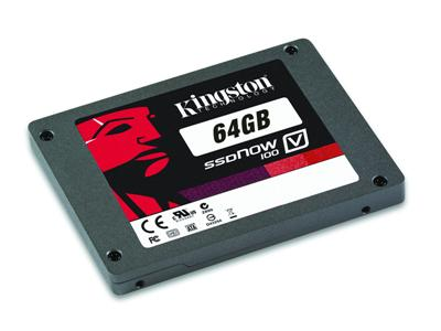 "Kingston 64GB SSDNow V100 SATA-300 2.5"" Solid State Drive"