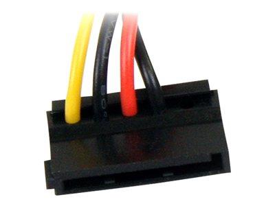 StarTech.com 6in 4 Pin Molex to Right Angle SATA Power Cable Adapter