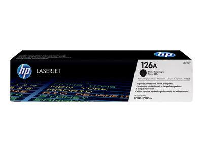 HP 126A Black Original LaserJet Toner Cartridge