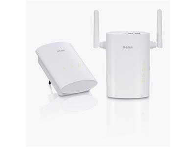 D-Link Wireless N 200Mbps Homeplug AV Starter Kit