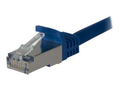 StarTech.com 10 ft Cat 6a Blue Shielded Molded 10 Gigabit RJ45 STP Cat6a Patch Cable