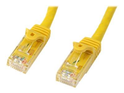 StarTech.com 100 ft Yellow Gigabit Snagless RJ45 UTP Cat6 Patch Cable