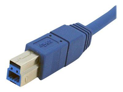 StarTech.com 1 ft SuperSpeed USB 3.0 Cable A to B - M/M